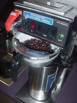 Grind the beans!