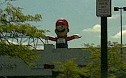 Giant Inflatable Mario