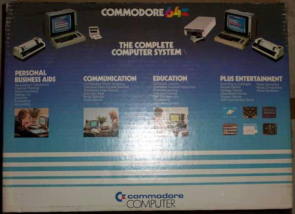 C64 Box - Back