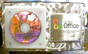 Office 2003 RAP Plaque