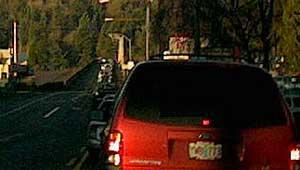 Traffic blocked up BAD