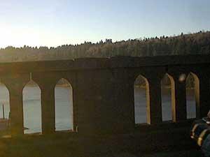 Nice view off the bridge