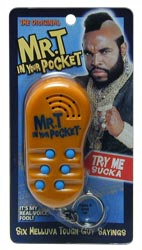 Mr. T - In your pocket!