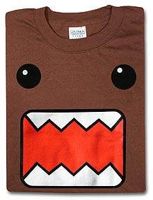 Domokun on a shirt!
