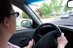 Jenn driving us to Clatskanie