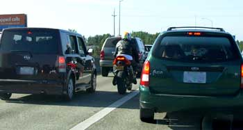 This is why motorcyclists get killed.