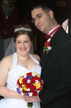 Jennifer and Travis Illig: October 14, 2006