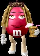 Jenn as an M&M