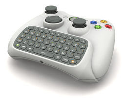 Xbox 360 QWERTY Keyboard Attachment