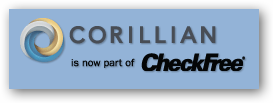 Corillian is now a part of CheckFree