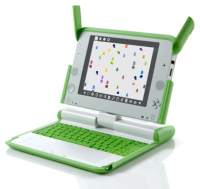 The XO laptop - One Laptop Per Child program.