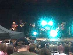 The B-52s play the Oregon Zoo. Yes, this is a horrible picture. Trust me, it's them.
