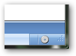 Informational icon in the bottom right corner of the NDepend window.