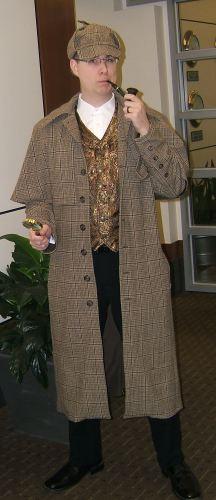 Travis Illig as Sherlock Holmes