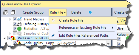 Create a rules file
