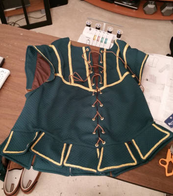 The finished doublet