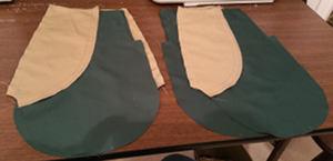 Side pocket lining