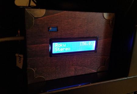 Finished volume monitor
