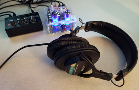 My headphone amp setup