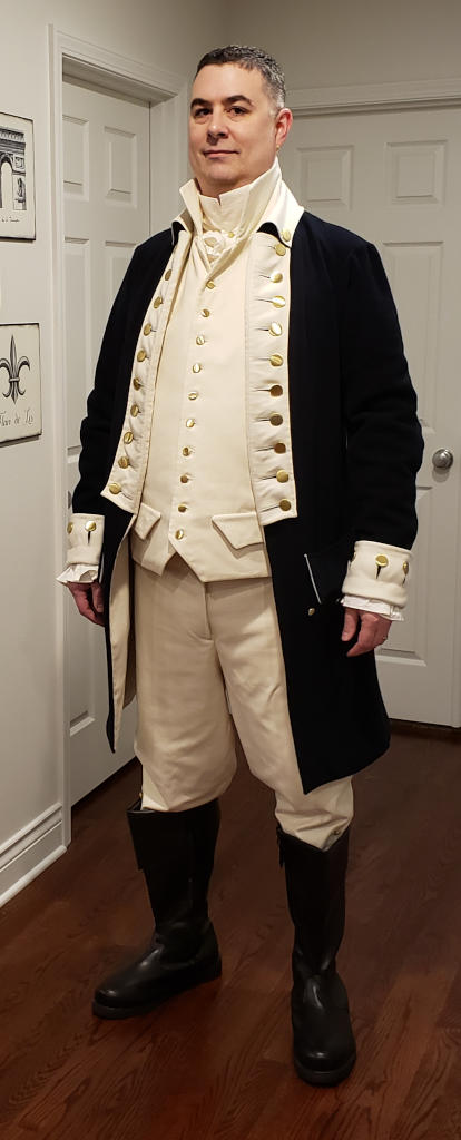 Travis as Alexander Hamilton
