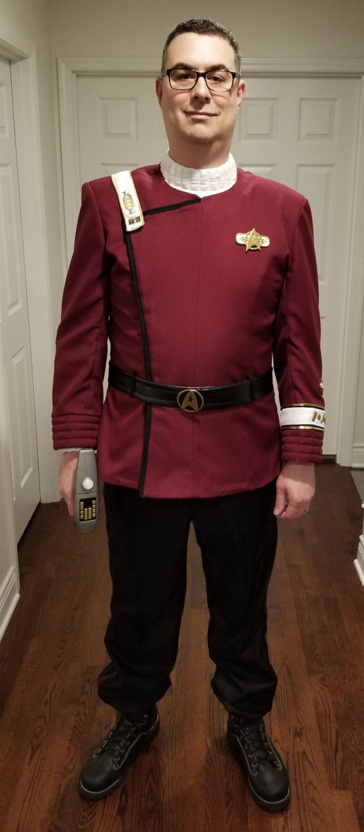 October 26, 2019: The complete costume (front)